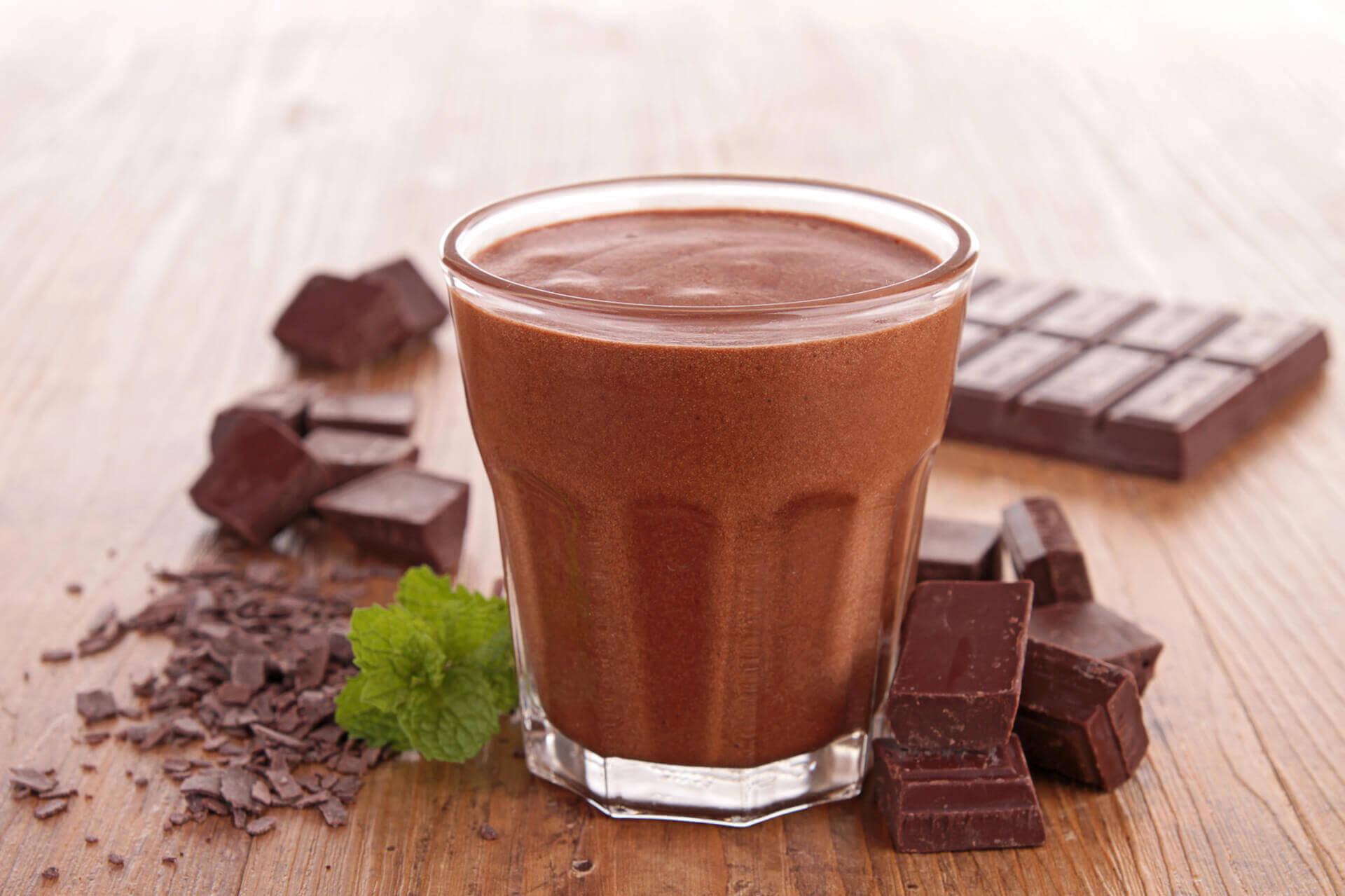 Niebiańska gorąca czekolada