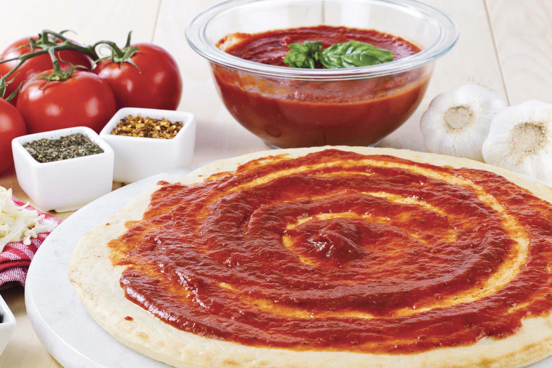 Pizza czosnkowa
