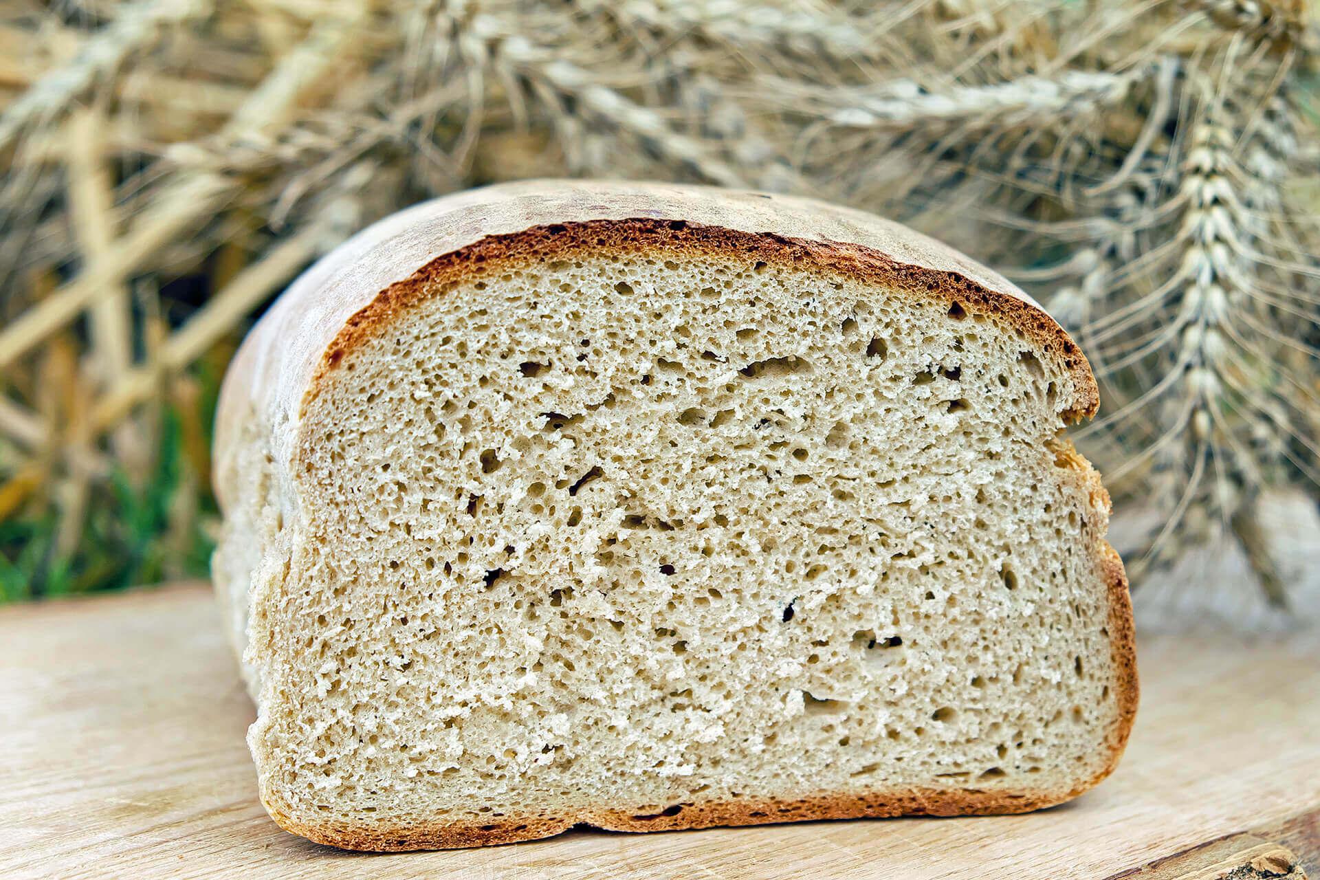 Chleb biszkoptowy z mąką migdałową