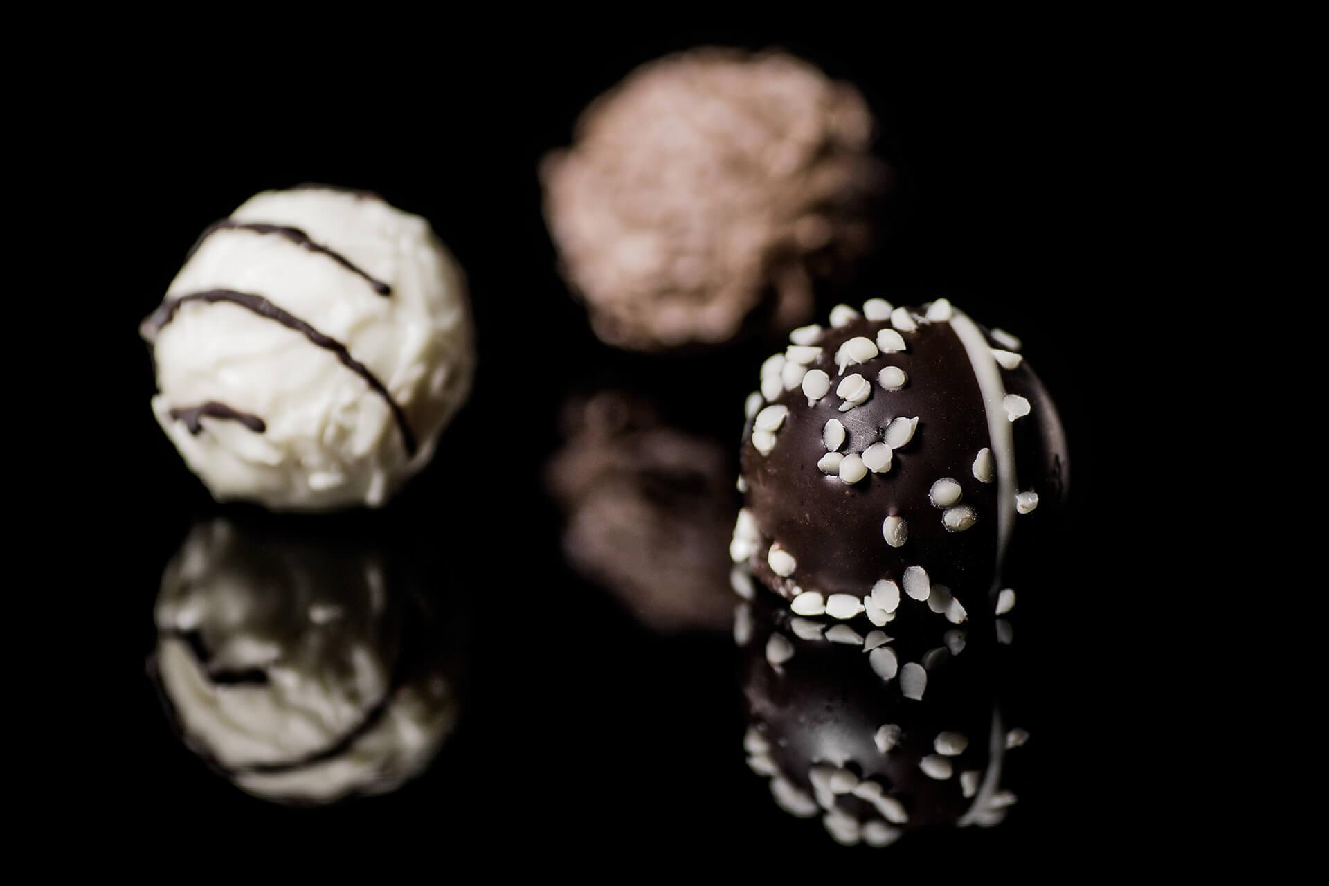 Kulki czekoladowo-kokosowe